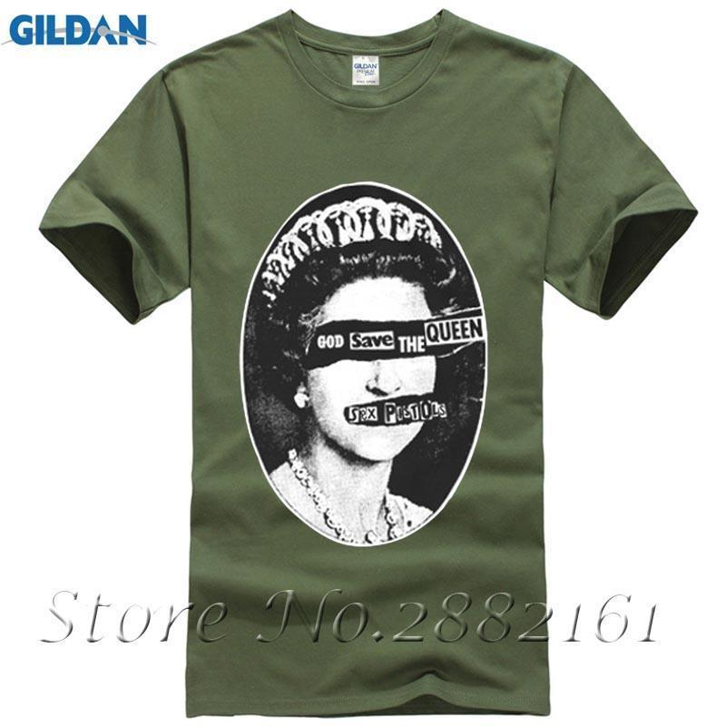 New Punk Rock Sex Pistols God Save The Queen Tshirts Short Sleeve Cotton Boys Man Classic Customized Tee Quality Team T Shirts Tee Shirt Of The Day