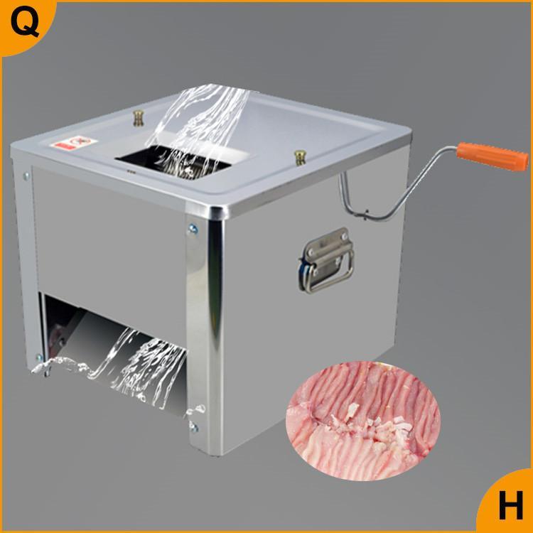 Qihang_top High Efficiency Handels Fleisch Hammel Rindfleisch Scheibe Cutter Schreddern Schneidemaschine Elektro-Handschneidemaschine Maschine