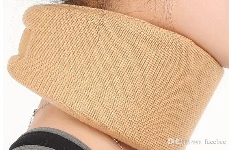 Unisex Battaniyeler Yumuşak Işık Boyun Desteği Ayraç Boyun Ağrısı Sertlik Giderici Servikal Boyun Desteği Araç Yaka Destek Minderi