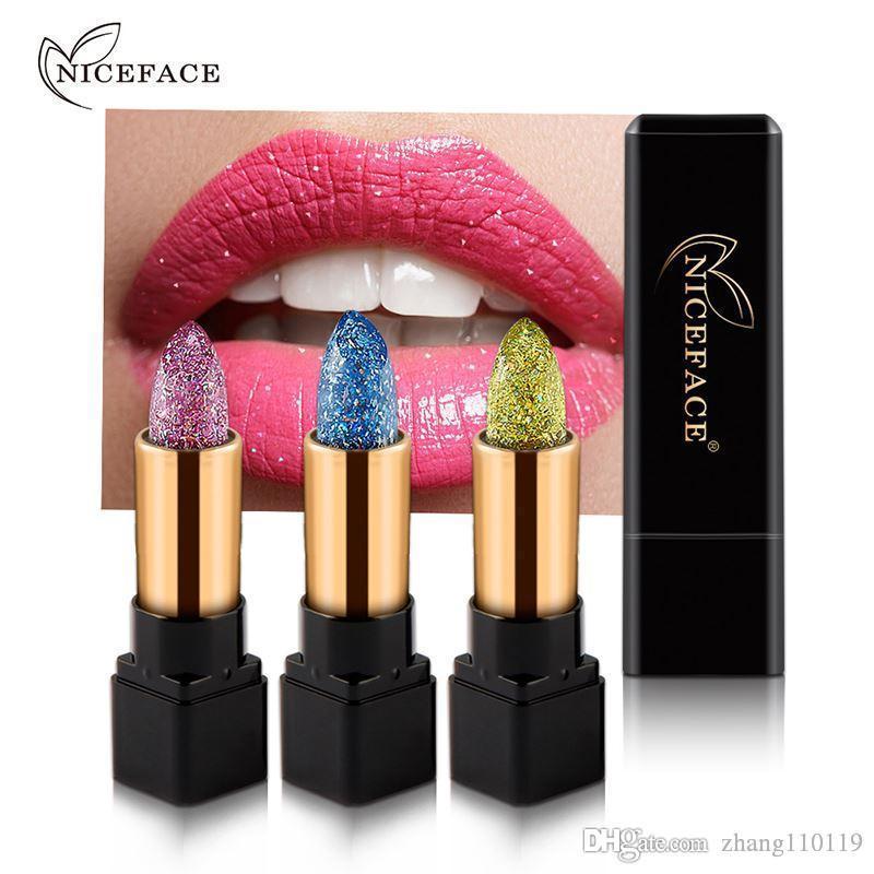 Hot Magic Temperature Change Color Lip Stick Waterproof Long Lasting Moisturizer Shiny Glitter Lipstick Cosmetic
