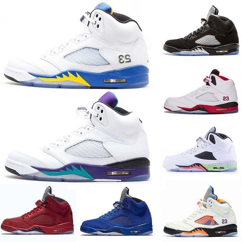 Laney 5 V 5s Basketball Shoes Black