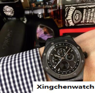 dab1b968434 Novo relógio de luxo Um CARVALHO REAL 26579CE série 44 MM multi-função de  discagem