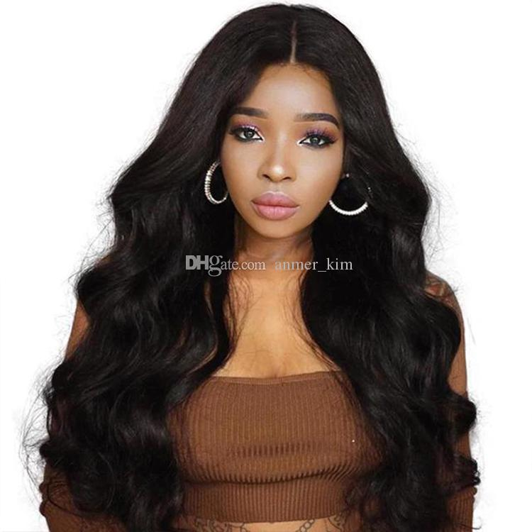 Made in China 100% unprocessed attraction soft virgin remy human hair long natural color big curly full lace cap wig for women