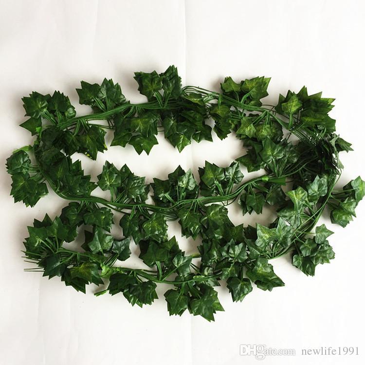 État de 30 Soie Vert Feuille de Lierre feuillage Garland Décorations-Wholesale Type F