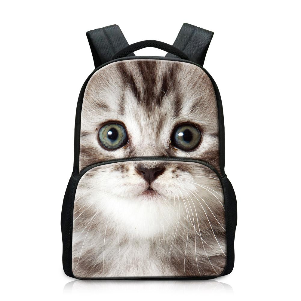 Cheap Name Brand Backpacks Coolest Pussy Pattern on Laptop Bags Design Dailybag for College Large Book bags for Men High Quality School Bag