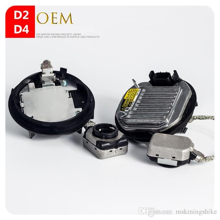 Geeto Round DENSO type Factory OE HID Xenon Replacement Ballast D2S D2R D4S D4R 12V 35W Quick Start Free shipping