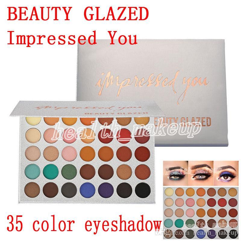 Yeni makyaj Güzellik Sırlı Göz Farı Paleti 35 Renk Size Etkili Mat pırıltılı Göz Farı Paleti güzellik sırlı Marka Kozmetik DHL