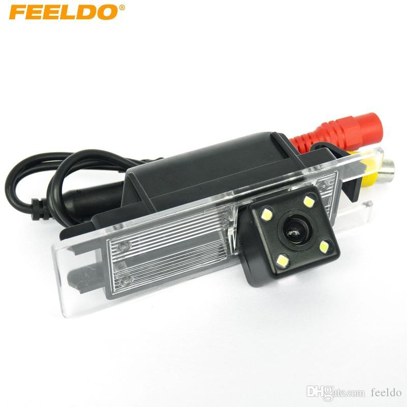 FEELDO de visión trasera cámara de estacionamiento para Buick Excelle GT / Regal Opel Vectra / Astra / Zafira / Insignia Chevrolet Malibu # 4055