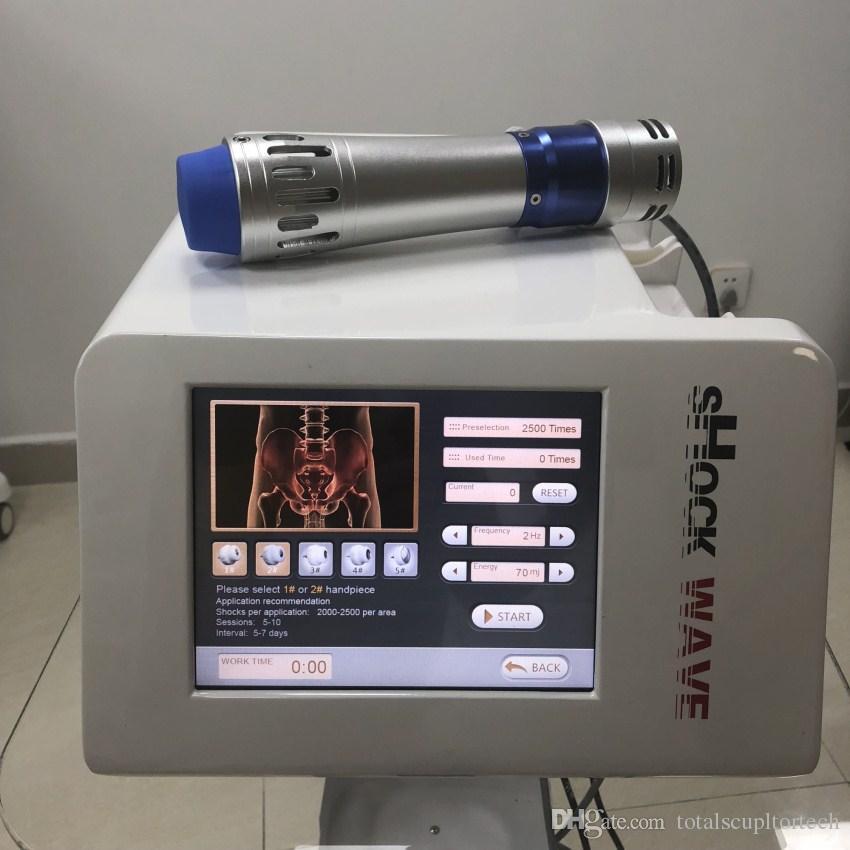 Electro terapia magnéticamente Shockwave dispositivo físico de onda inteligente similar para la terapia Disfunción Eréctil o reducir el dolor alivio para orthopae