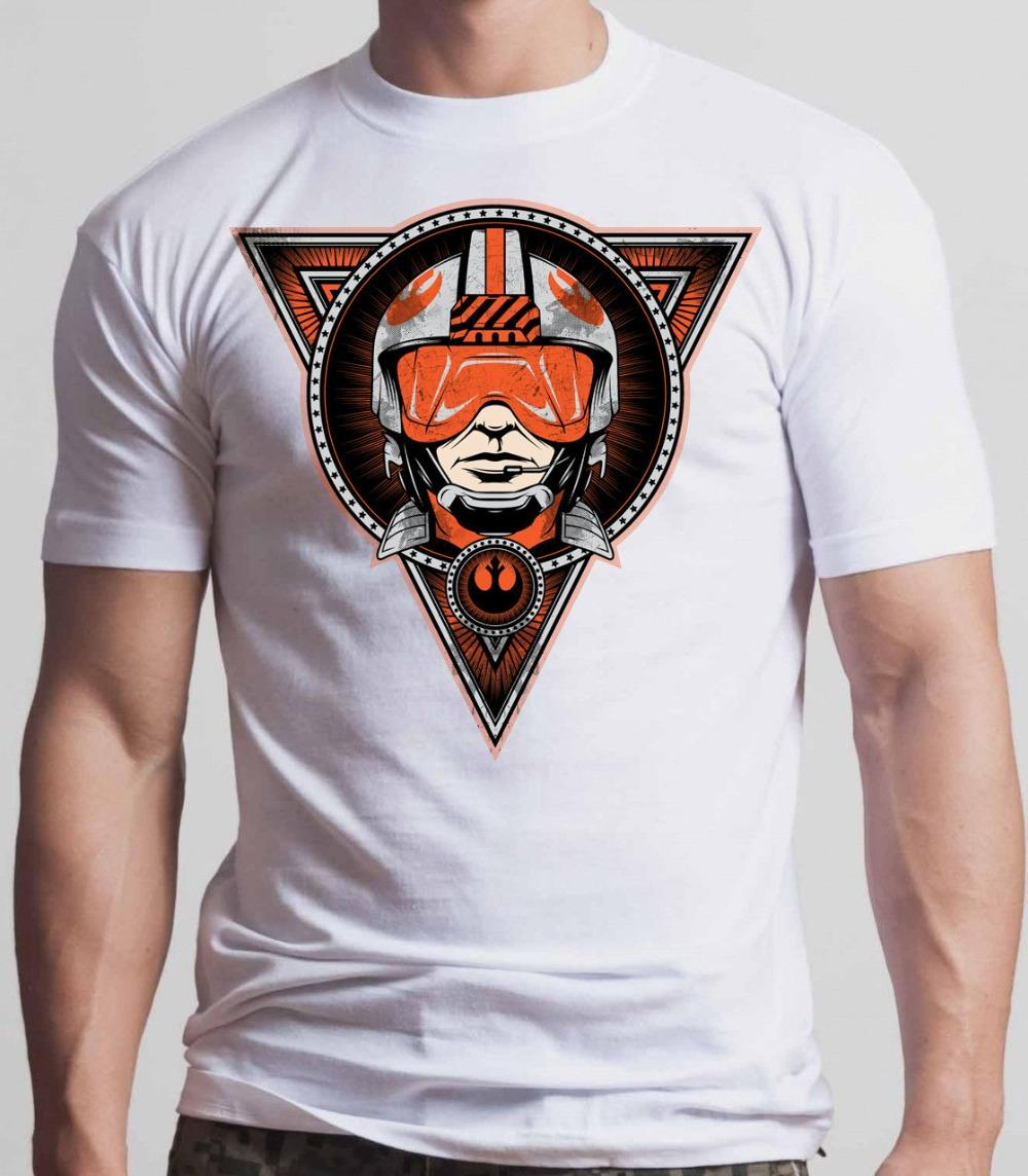 Men Clothes 2018 Hip Hop Harajuku Shirts Flight Leader Tee Shirt Battle Front Black Or Whiteshort Sleeves 100% Cotton