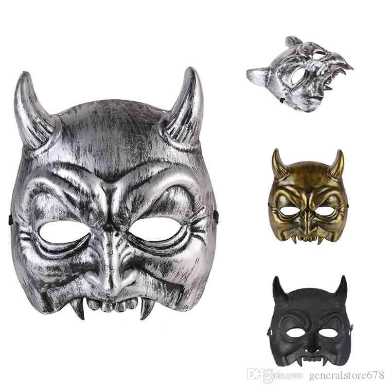 Halloween Demon Masks Party Demonstrate Festive Party Supplies Home New Plastic Mask Cheap Halloween Articles For Wholesale