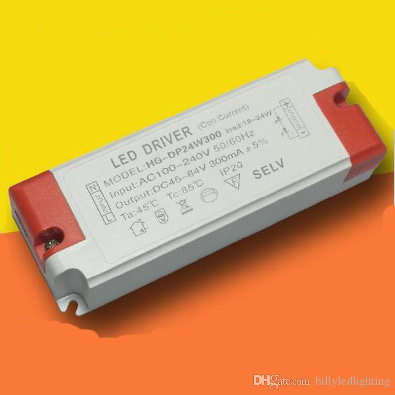 Conductor llevado reemplazo 8-12 W salida DC20-42V corriente constante 300mA AC100-240V para LED abajo luz del panel con 3 años de garantía