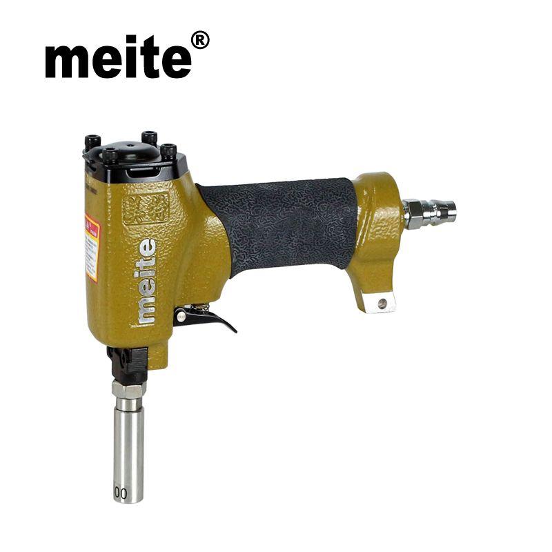 MEITE ZN0750 in testa diametro 7.5 mm pistola chiodatrice pneumatica chiodatrice per la decorazione di mobili, scarpe strumento di aggiornamento Dec.15