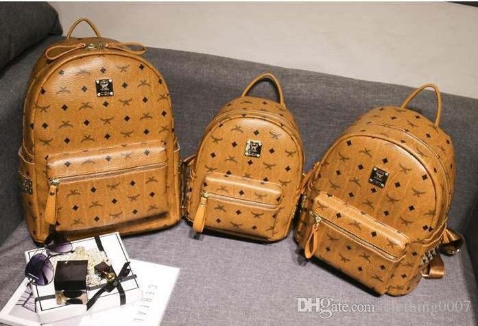 2018 New Arrival Fashion Luxury Brand Rivet Backpack Style Hot Selling  Fashion Designer Backpack Letter Bags 9b28a7cf97d6e