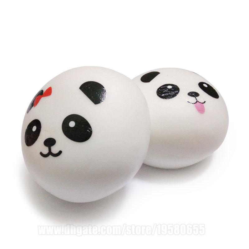 Simplicity Style Squishy Panda Squishies Bun 10cm Jumbo Slow Rising Toys Big Bread DHL Free Shipping SQU049