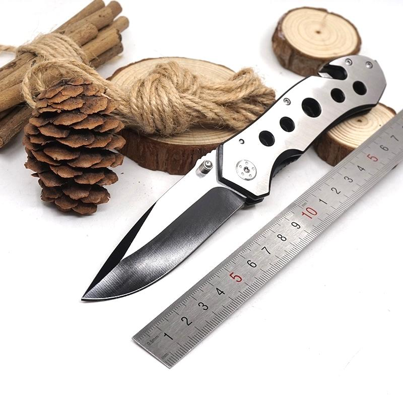 083BS Folding Survival Knife 3cr13 Stainless Steel Blade Material Outdoor Pocket Knives Camping Tools Free Shipping