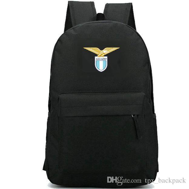 Lazio SpA backpack Societa Sportiva day pack حقيبة مدرسية لكرة القدم packsack نادي كرة القدم حقيبة الظهر الرياضة المدرسية daypack حقيبة الظهر