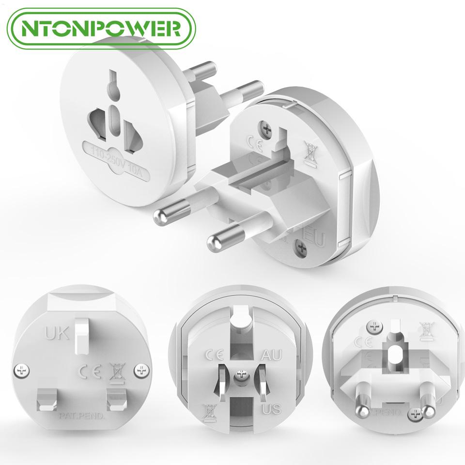 cessórios Peças elétrica soquete Plugues Adaptadores NTONPOWER UTA Universal Electrical plug adaptador de viagem Tomada Converter ...