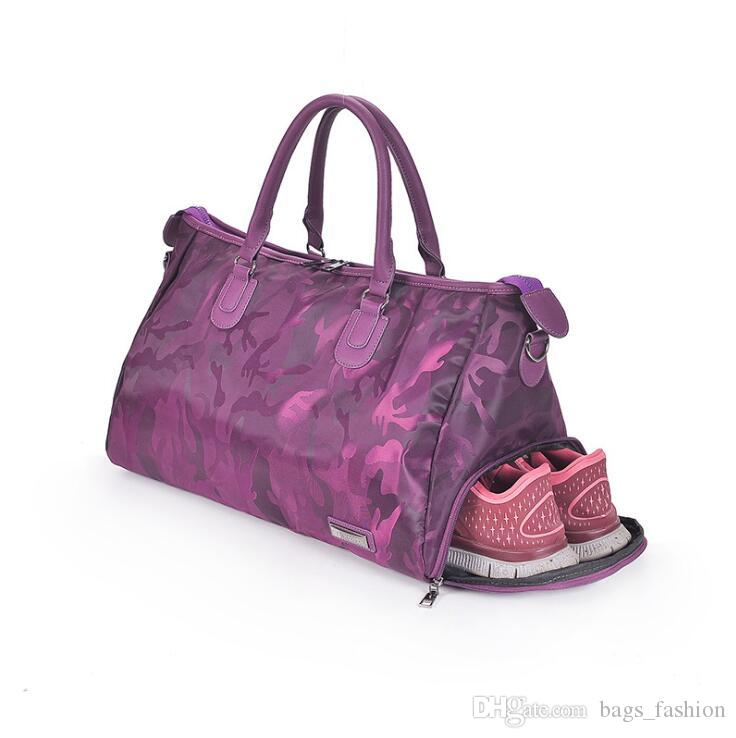 Fashion Women Camouflage Bag large Capacity Short-range Portable Lightweight Oxford Universal Tote Bag Sewing Machine Tote Bag