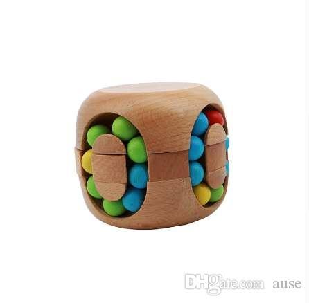 Rompecabezas Juguete inteligente China Kongming Bloquear Hamburguesa Rubí k's Magic Cube Rompecabezas Madera de haya MU879576