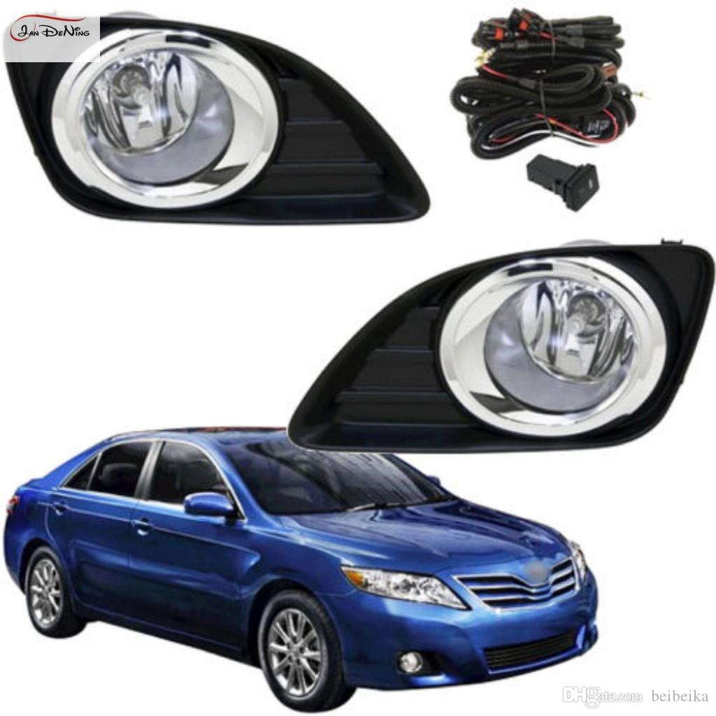 FOR Toyota Camry 2009-2011 Front Bumper Fog Lamps Dirving Lights+Wiring+Switch