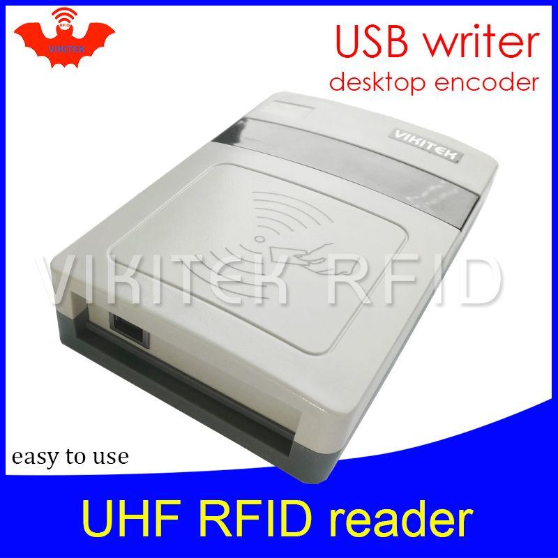 2019 UHF RFID Reader Short Range Integrated Reader VIKITEK VFR08 Usb