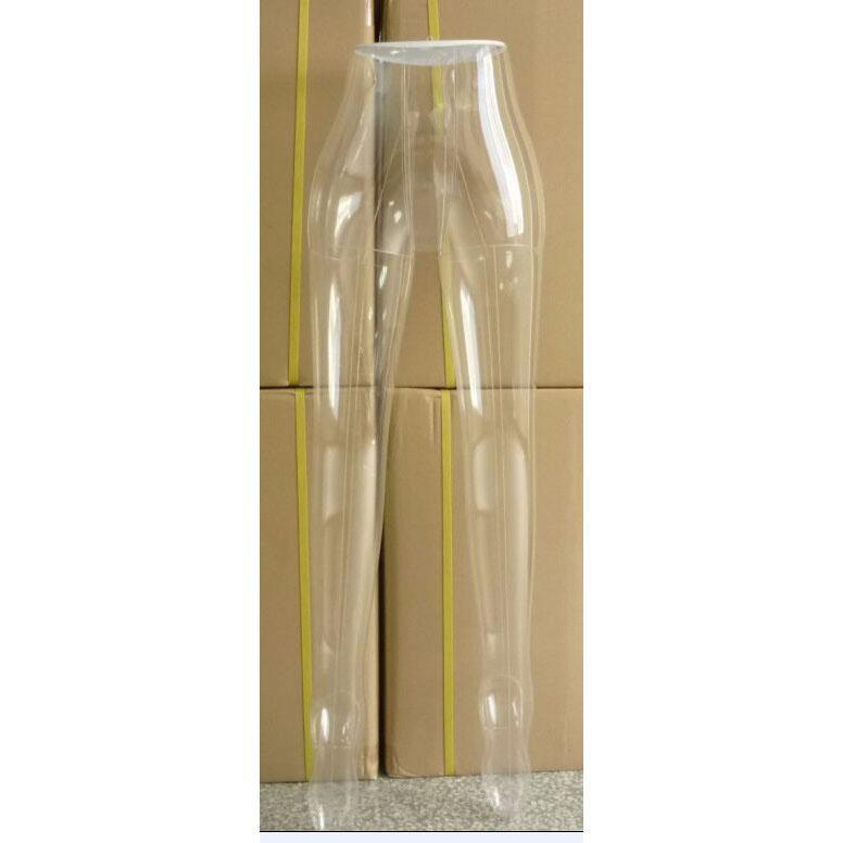 Spedizione gratuita !! Vendita calda nuovo PVC di plastica femminile pantaloni gamba pantaloni intimo modello manichino gonfiabile manichino tronco