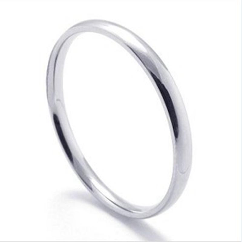 Moda simples barato Anéis De Aço Inoxidável para as mulheres senhoras Bulk Jóias Por Atacado Barato Anel homens menina presentes Transporte da gota