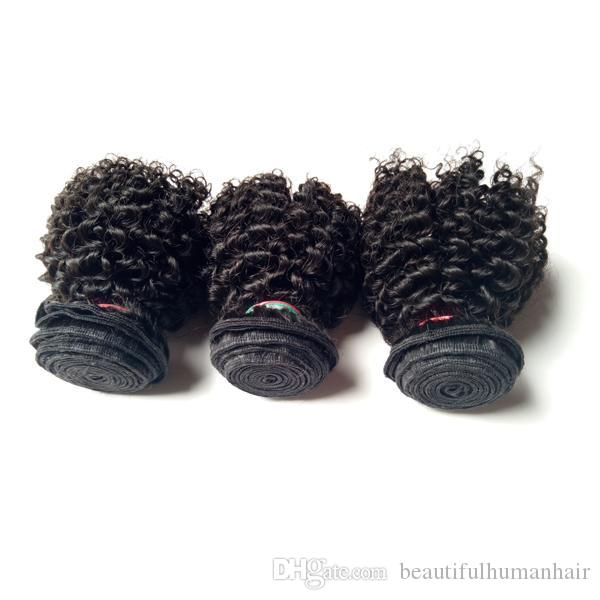 Unprocessed Christmas Brazilian Virgin Human Hair Weaves Indian Mongolian Cheap 3 Bundles Kinky Curly remy Hair For Sale Factory Price