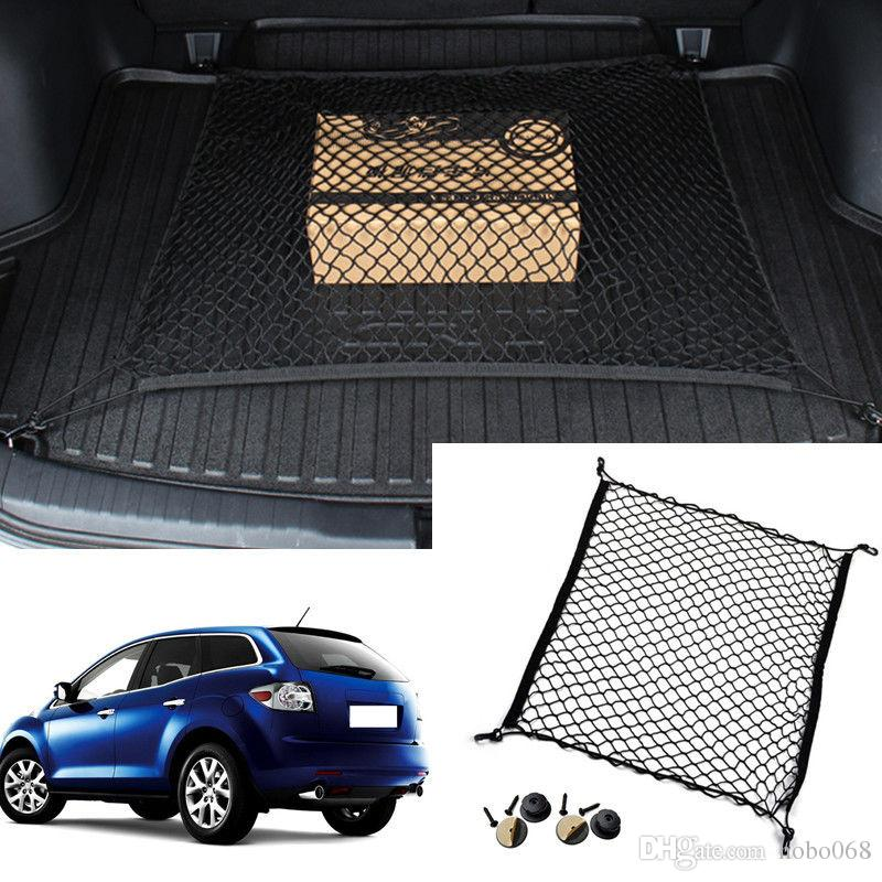 For Mazda Cx 7 Vehicle Car Auto Rear Trunk Cargo Organizer Storage Seat Plain Vertical Net Luggage Organizer Nylon Liner Cover Automotive Interior Automotive Interior Accessories From Hobo068 10 06 Dhgate Com