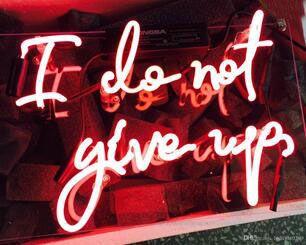 Я не отказываюсь от стеклянной трубки неоновый свет знак дома пивной бар паб комната отдыха огни окна стеклянные стены знаки 14 * 9 дюймов