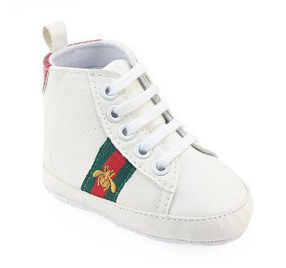 Nouveau Mode Sneakers Premiers Marcheurs Bébé Chaussures Nouveau Né Bébé Berceau Chaussures Garçons Filles Infant Toddler Semelle Souple