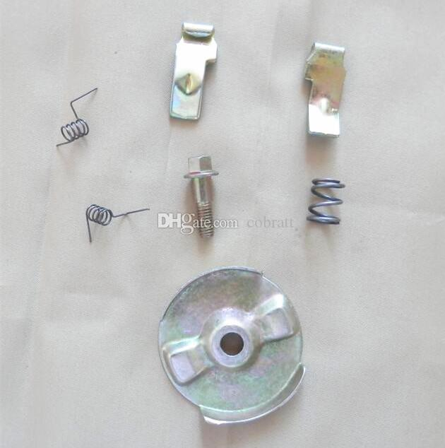4 sets X Steel ratchet recoil starter pawl rebuid kit for Honda GX160 GX200 5.5HP pull start repair pawls screw s pring washer pin
