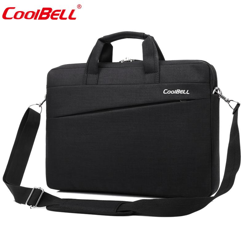 Nylon 15.6inch Briefcase Business Laptop Handbag Shoulder Messenger Bag Notebook