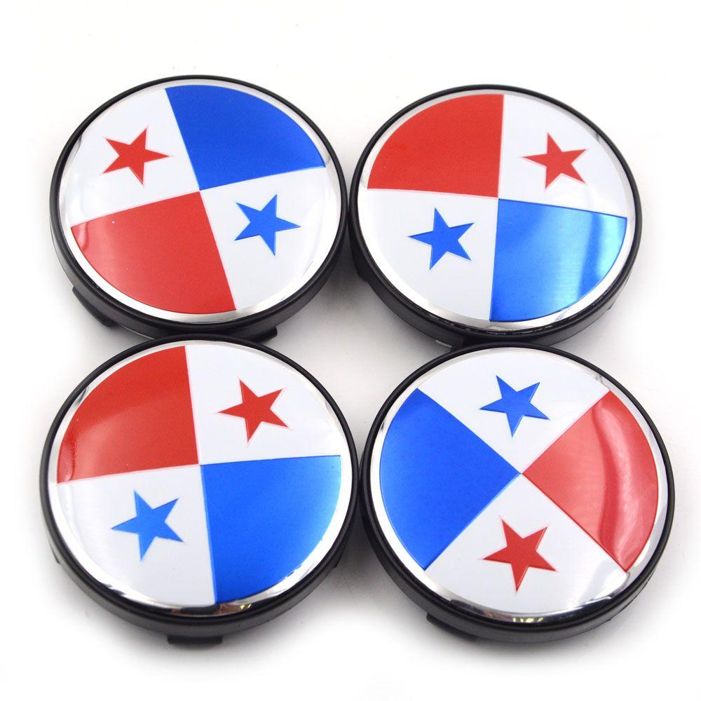 PANAMA CAR GRILLE EMBLEM BADGES FLAG