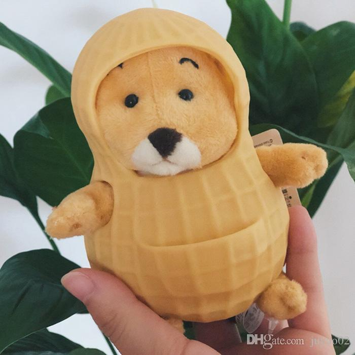 Best Selling Creative Ins Peanut Rat Cute Toy Shell Super Cute Doll Pendant Soft Comfortable Plush Toy Girl