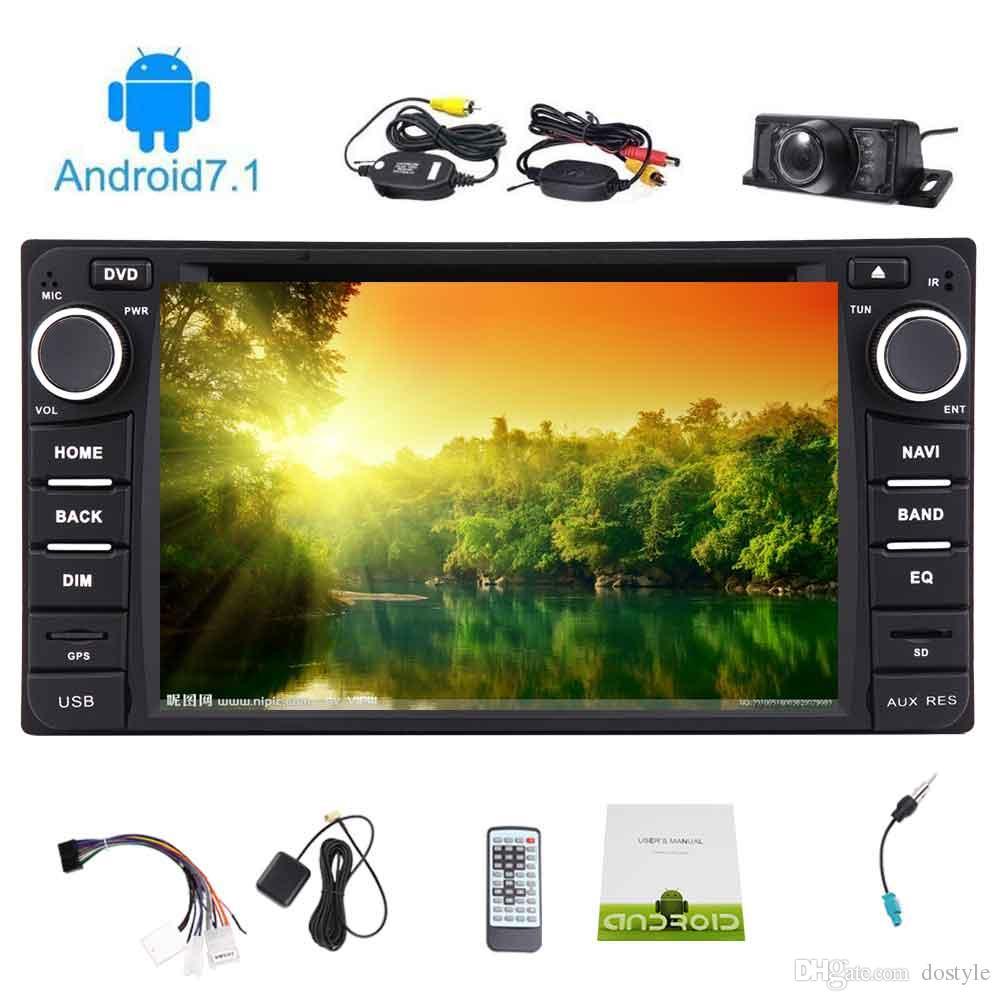 Eincar Double 2 Din Android 7.1 Unidad principal estéreo del coche Octa Core Autoradio se ajusta a TOYOTA Corolla EX (2008 ~ 2013) Reproductor de DVD para automóvil