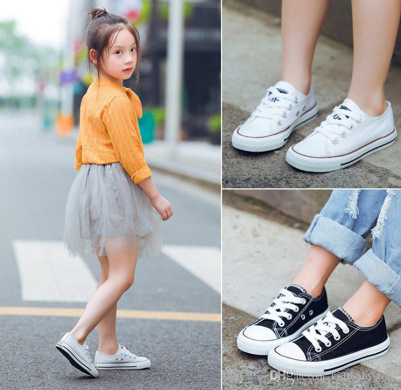 Enfants Toile Chaussures Causales Chaussures Sportives Baskets Chaussures de Sport Pour Garçons Filles Hommes Femmes