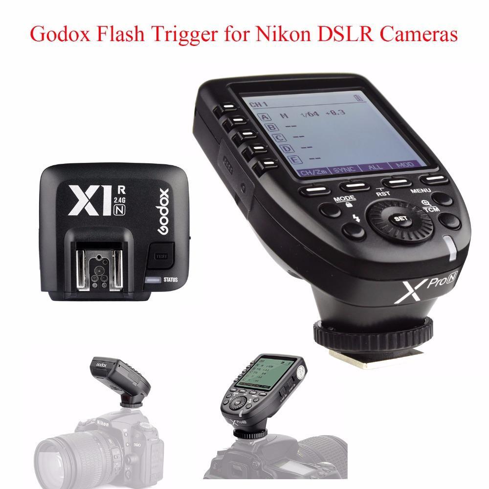 Godox X1R-N TTL Wireless Flash Trigger Receiver for Nikon,2.4G Wireless TTL 1//8000s Remote Flash Receiver Shutter Release