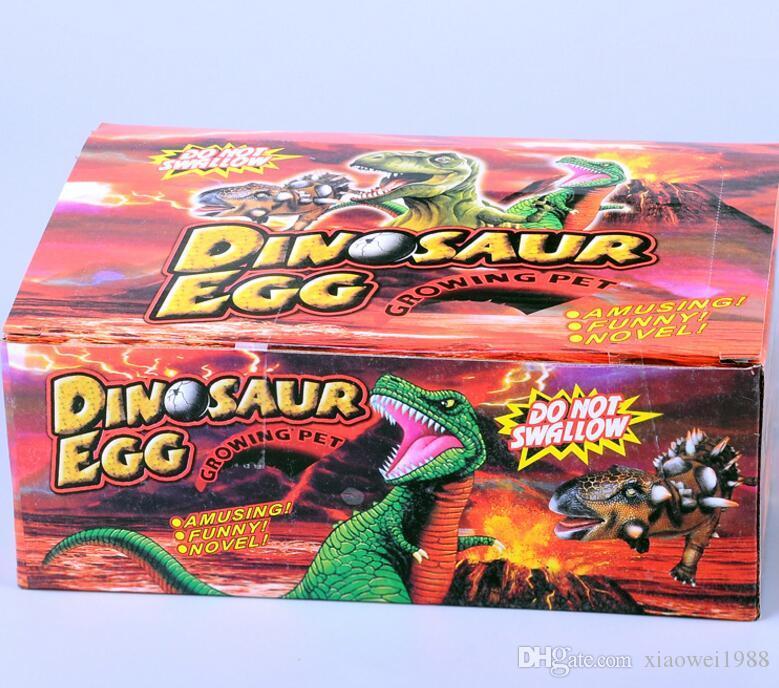 Gran Huevo de Dinosaurio 6 cm Color Grieta Resurrección Huevo Dinosaurio Eclosión Extensión Expansión Juguete Regalo Creativo regalo