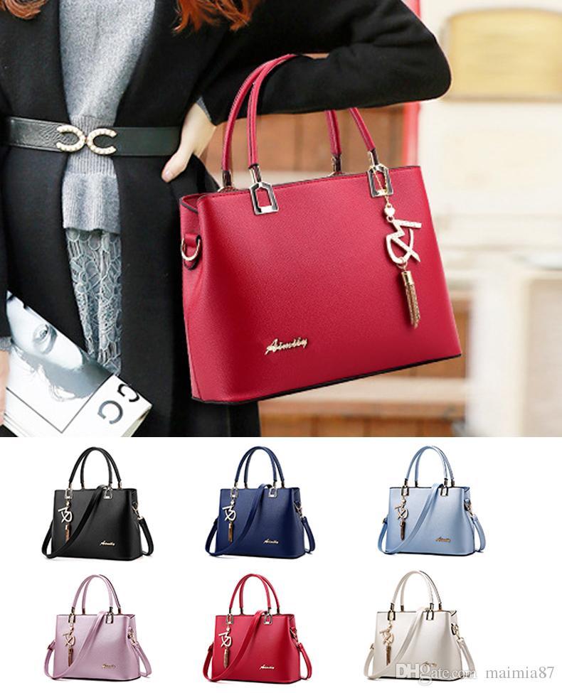 Großhandel Elegante Taschen Damen Handtasche Schultertasche Hobo Bag Satchel Geldbörse Tote Messenger Crossbody Satchel Business-Tasche für Frauen