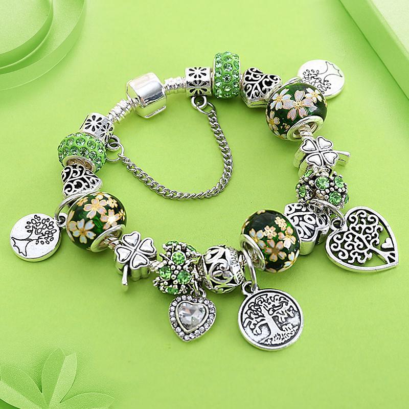 bracelet pandora arbre de vie