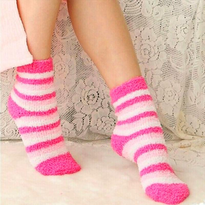 2021 Winter Warm Socks For Women High Quality Towel Warm Fuzzy Socks Candy Color Thick Floor Thermal From Brry, $27.7 | DHgate.Com