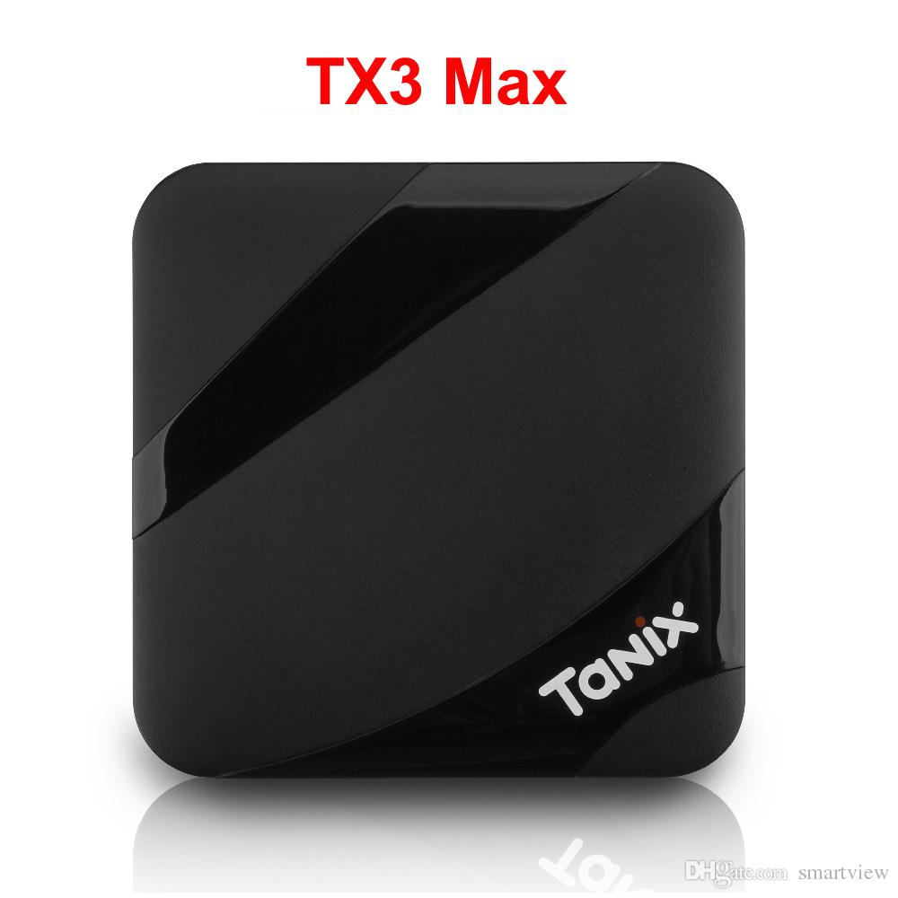 Tanix TX3 Max BT4.1 2GB 16GB Android 9.0 TV BOX Amlogic S905W Surppot 2.4GHz WiFi Google Play Store