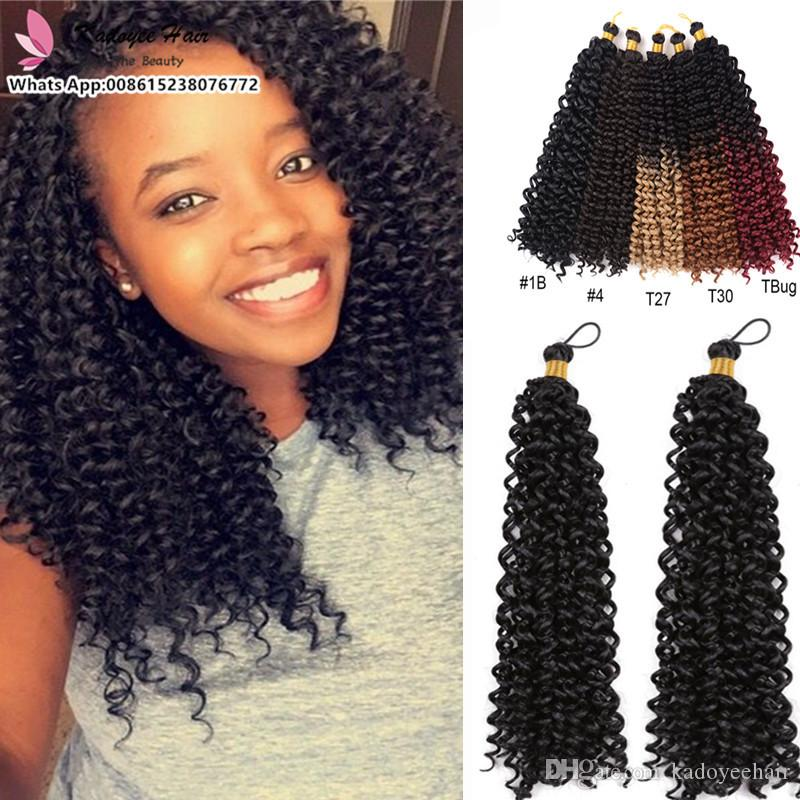2020 Wholesale Cheap Crochet Braids For South Africa Afro Curly Braiding Hair Synthetic Fiber Hairstyles Uk Usa Easy Lazy Quick Hair Bundles From Kadoyeehair 8 05 Dhgate Com