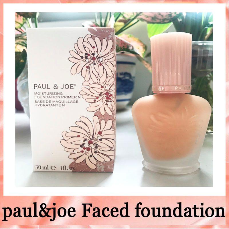 Brand enamel paul&joe pj refreshing Faced foundation liquid Luminous Primer 30ml 30ML free shipping 660251- 01