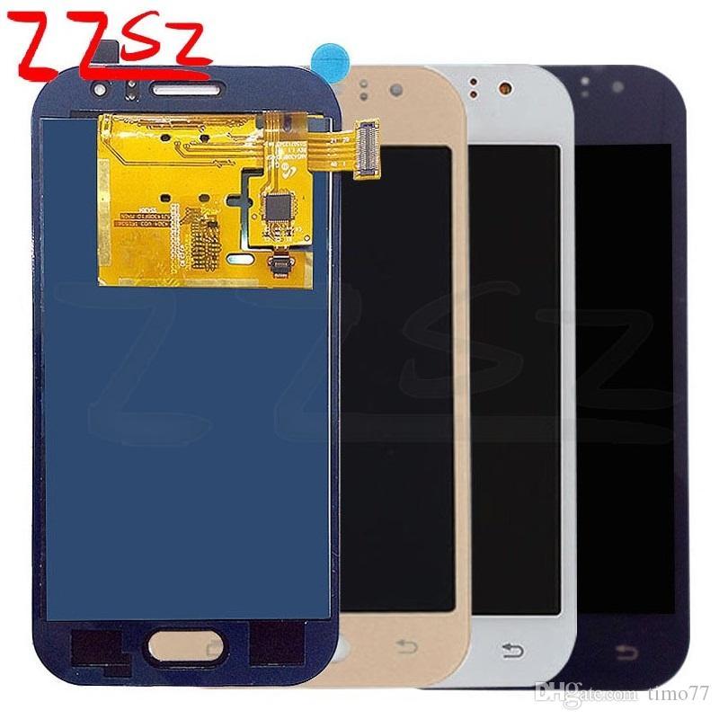 Bonne qualité pour Samsung Galaxy J1 2015 LCD J110F J110M J110H Affichage Assemblée Digitizer remplacement de l'écran de réglage de la luminosité TFT