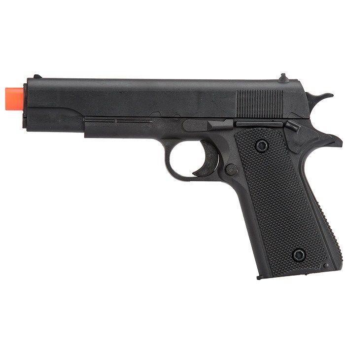 M1911 SPRING AIRSOFT HAND GUN PISTOL 6mm BBs BB Black
