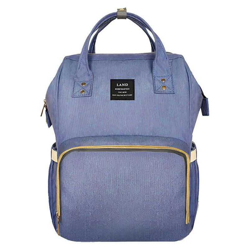 LAND Baby Bag Fashion Nappy Bags Large Diaper Bag Backpack Baby Organizer Maternity Bags For Mother Handbag Nappy Backpack/