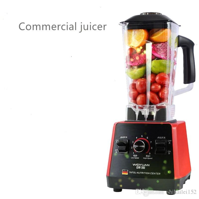 2018 Commerciale Alimentato Elettrico Multifunzionale Smoothie Juice Blender con bpa Blender Blender Juicer Spedizione Gratuita / Coffee Grinder